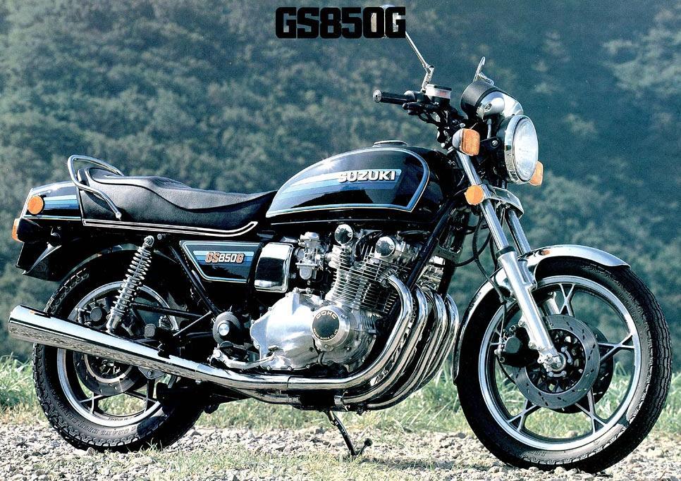 1983 Suzuki GS850GN vintage late 78