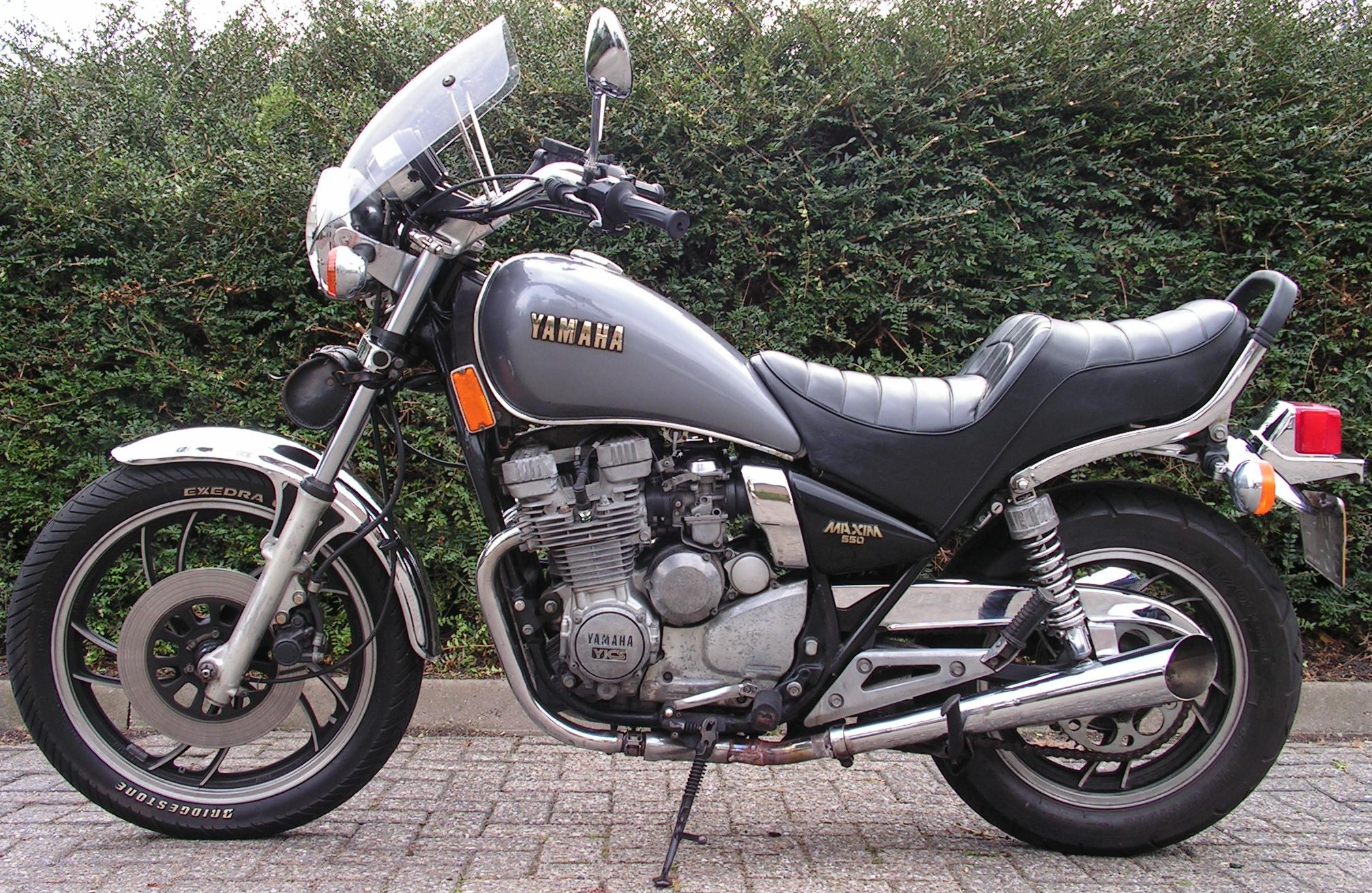 Considering as first bike motorcycles for 81 yamaha maxim 550
